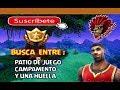 BUSCA ENTRE : CAMPO DE JUEGO CAMPAMENTO Y UNA HUELLA