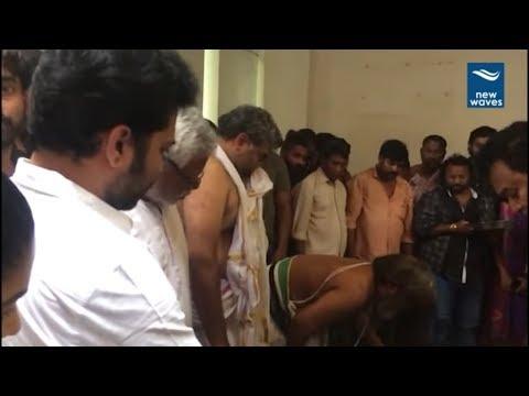 శోక సంద్రంలో సినీ ప్రముఖులు Tollywood Celebs at Devadas Kanakala House | Anchor Suma | New Waves