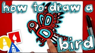 How To Draw A Native American Inspired Bird