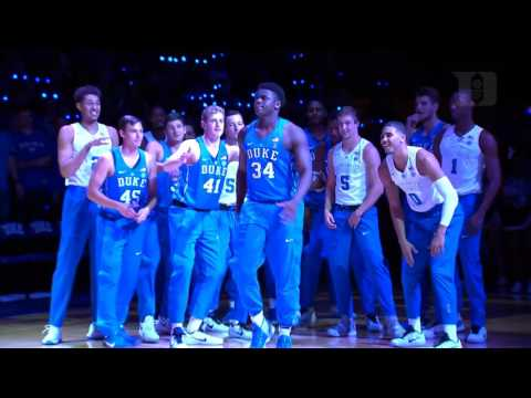 2016 Countdown to Craziness Duke Player Intros