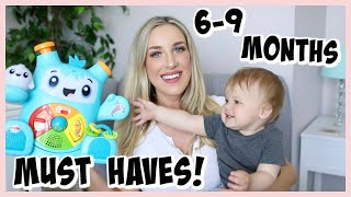6-9 MONTH BABY ESSENTIALS! ITEMS WE USED MOST | OLIVIA ZAPO