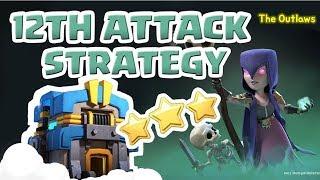 [꽃하마 vs The Outlaws] Clash of Clans War Attack Strategy TH12_클래시오브클랜 12홀 완파 조합(지상)_[#62-ground]