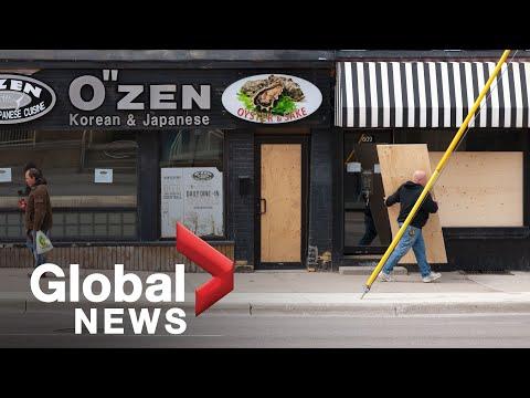 Coronavirus outbreak: Ontario and Quebec release plans to reopen economy