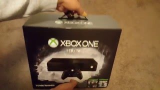 1TB Xbox One 2015 Holiday Bundle Unboxing with 5 Free Games