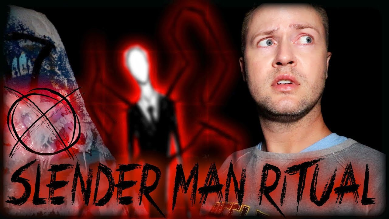 SLENDER MAN RITUAL in a HAUNTED FOREST | MichaelScot by: MichaelScot