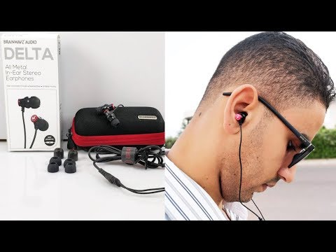 The Best Brainwavz Delta IEM Earphones With Mic & Remote : Unboxing + Test + Review