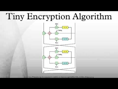 Tiny Encryption Algorithm
