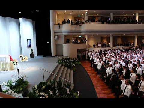 State Funeral Service for Mr Lee Kuan Yew, Spores Founding Prime Minister