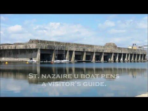 St. Nazaire U Boat Pens ~ A visitor