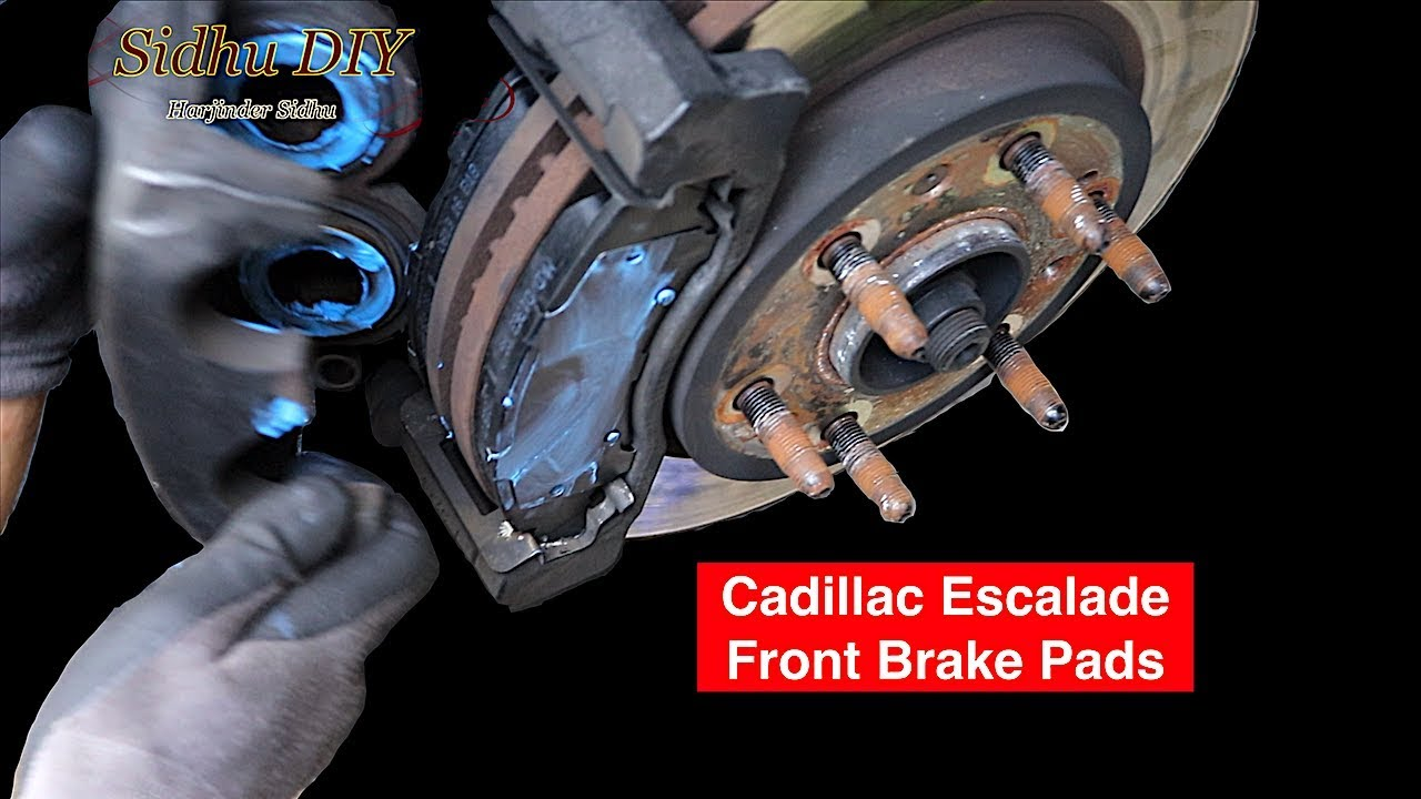 How To Change Cadillac Escalade Front Brake Pads Youtube