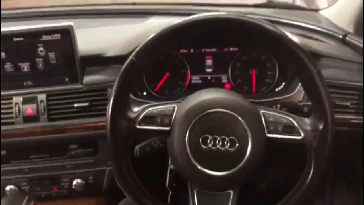 how to reset oil service inspection audi a6 2013 2018 full hd [ 1280 x 720 Pixel ]