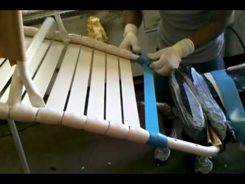 Patio Furniture Re-Strapping - Florida Patio - Patio Furniture Re-Strapping - Florida Patio - YouTube