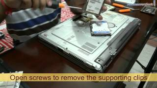 Steps to recover crashed hard disk of Laptop using DDR Data Recovery Software