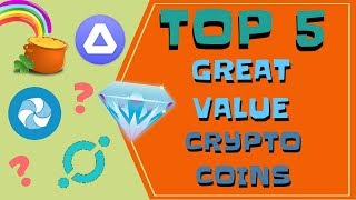 Top 5 undervalued coins | July 2018