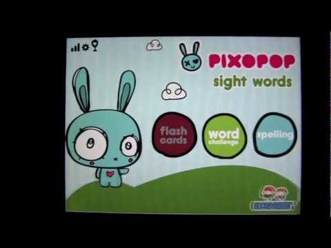 Sight Words & Spelling with Pixopop HD iPad App Review - CrazyMikesapps