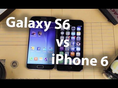 Сравнение Samsung Galaxy S6 и iPhone 6