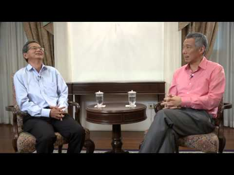 PM Lee Hsien Loong: Interview with CLC (development of Marina Bay)