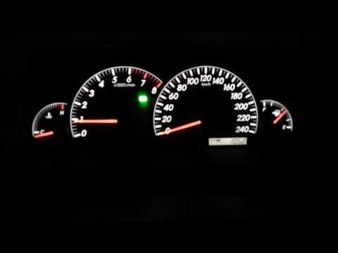 Toyota Camry 30 запуск двигателя в мороз (-30 градусов)