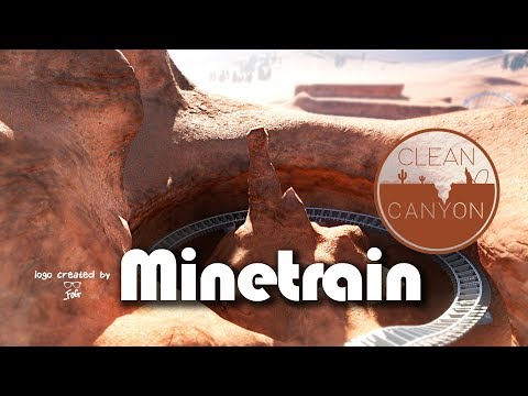 🐪 Clean Canyon | Planet Coaster | Mine Train Layout