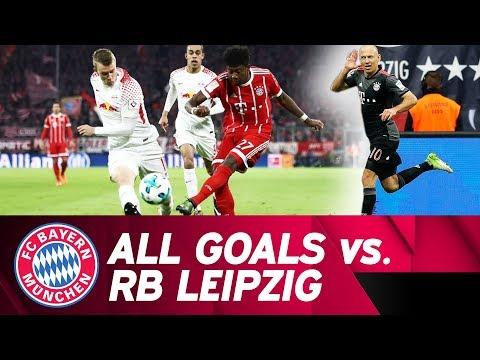 ALL FC Bayern Goals vs. RB Leipzig! ⚽⚽⚽