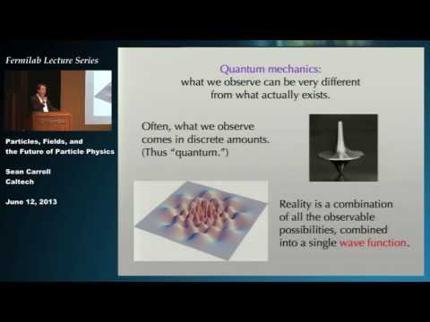 Particles, Fields and The Future of Physics - A Lecture by Sean Carroll
