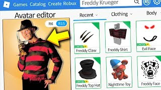 MAKING FREDDY KRUEGER A ROBLOX ACCOUNT!!