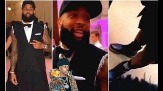 Odell Beckham Jr Wears A Dress & Channels His Feminine Side + Tekashi 69's Lover Gets His Face Tatte