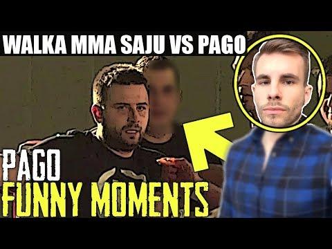 PAGO[WALKA MMA SAJU VS PAGO/SAJU PRZEPRASZA PAGO/USTAWKA W KLUBIE/FORTNITE SUPER!] [FM]