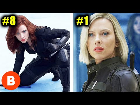 Black Widow: Most Powerful Avenger Moments Ranked