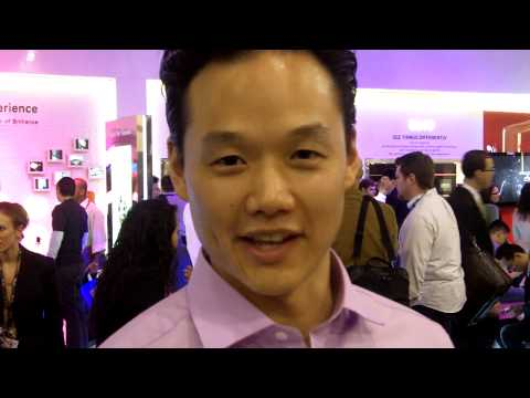 CES 2010: LG's Frank Lee on the LG GW990 smartphone