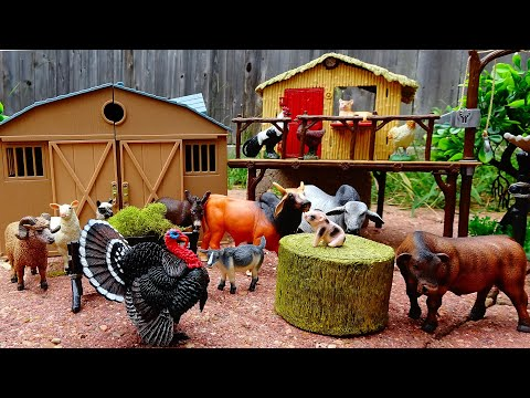 Fun Farm Animal Figurines
