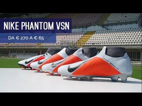 Nike Phantom Vision, da 270 a 65 euro, cosa cambia?