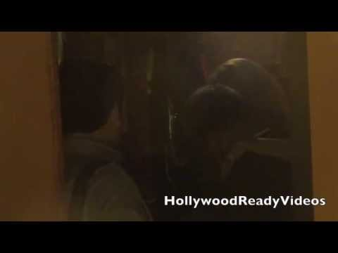 A wasted Brandi Glanville tries to sneak out of Dan Tanas in West Hollywood thumbnail