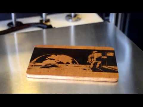 Proforge 3D Printer - Laser Engraving