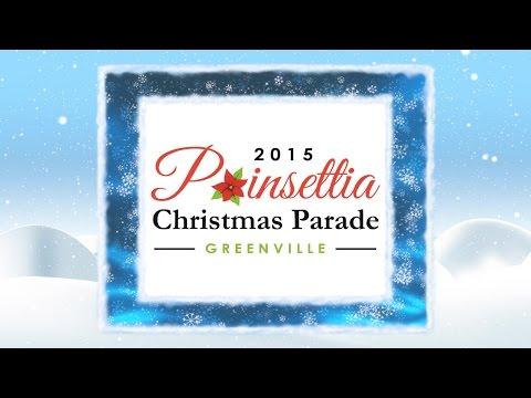 2015 Greenville Poinsettia Christmas Parade