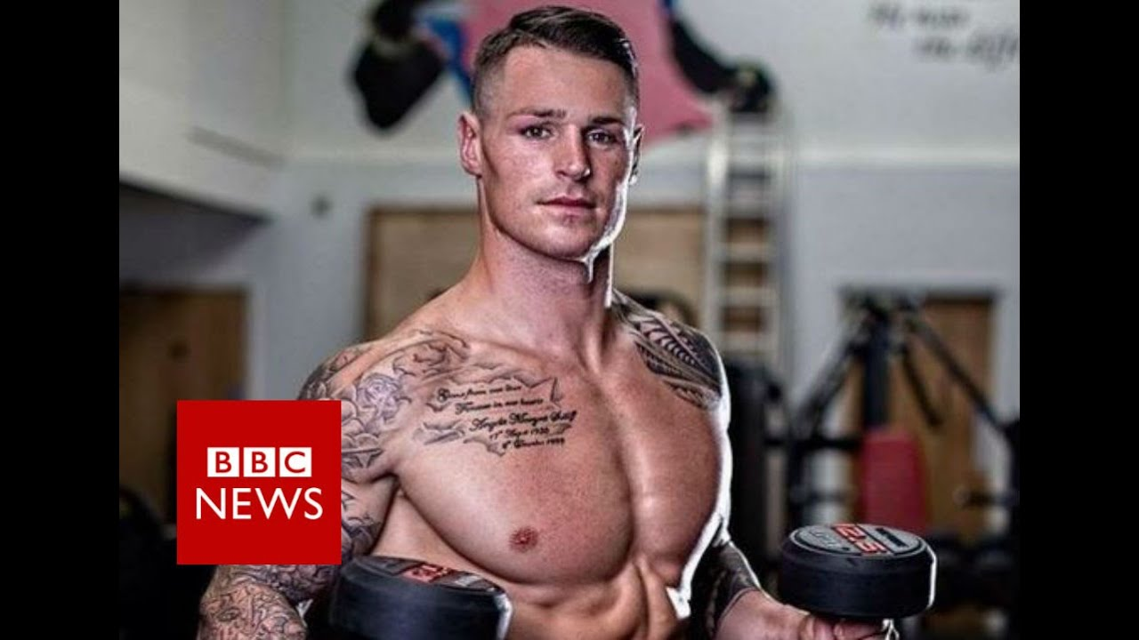 Body builder's 'hidden disability' - BBC News