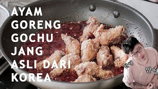 Download Video CARA MEMBUAT AYAM GORENG KOREA - HOW TO MAKE GOCHUJANG WINGS MP3 3GP MP4