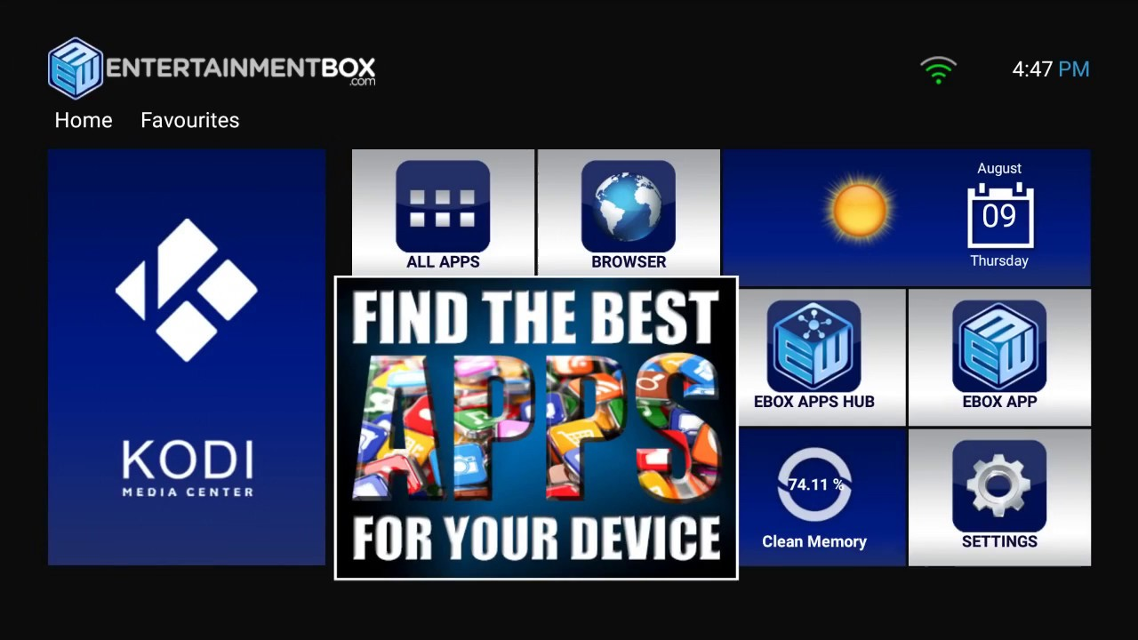 Best Android TV App Store 2018 EBOX Store