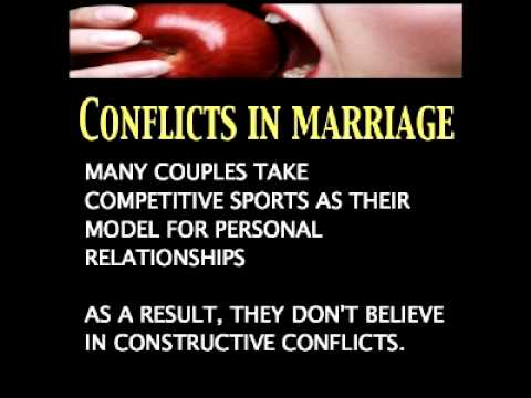Dating Mating Relating Lesson 3 - Conflicts In Marriage! Part 1