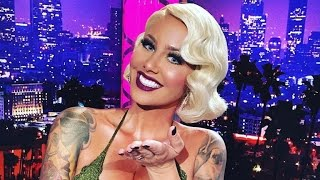 Kanye's Ex Amber Rose Defends Him In The Taylor Swift Feud!