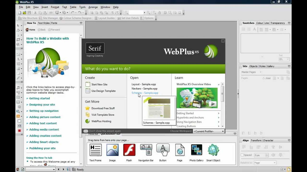 Serif WebPlus X8 v16.0.3.30 Free Download