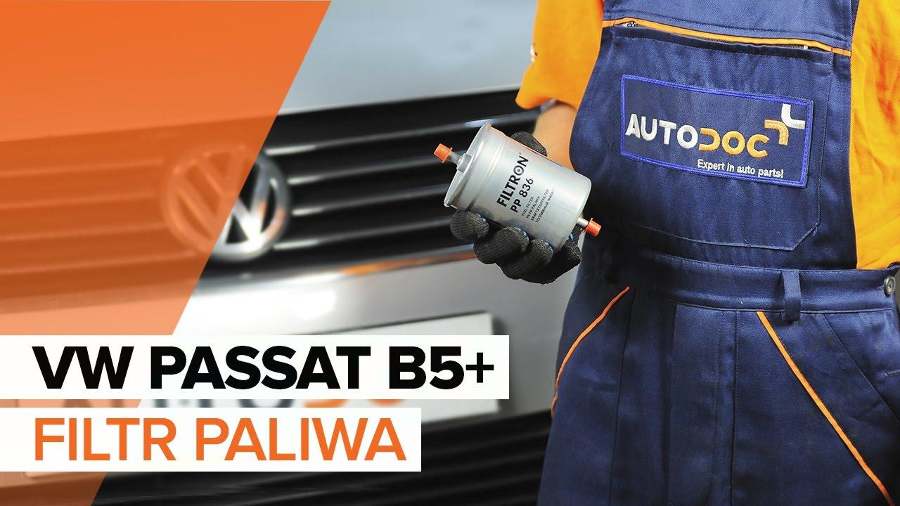 Jak wymienić filtr paliwa w VW PASSAT B5+ TUTORIAL   AUTODOC
