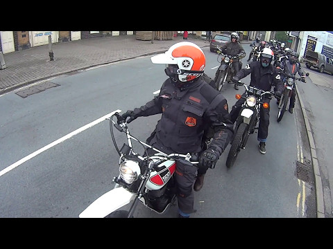 XT500 Hay on Wye, Wales, 2017 Ride Out