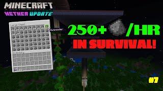 EASY 1.16 CREEPER FARM! Stan Survives Minecraft! (Minecraft Bedrock) #7