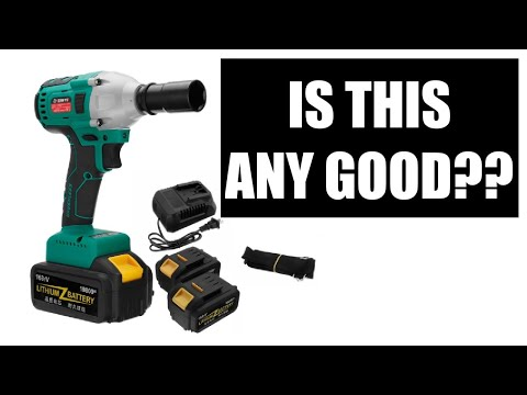 Cheap Chinese Brushless Impact Wrench Review - Its Quite Good!!