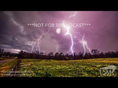 03-09-2016 Little Rock, ARKANSAS Storms and Lightning