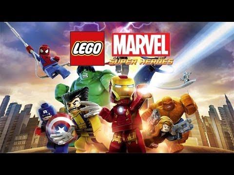 Lego Marvel Superheroes Game Movie Youtube