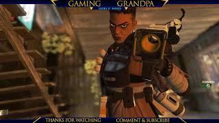 gaming grandpa gets 6 kills on apex legends - i was on fire