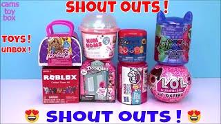 Roblox 4 PJ Masks LOL Surprise Doorables Paw Patrol Surprise Toys Unboxing Fun Kids
