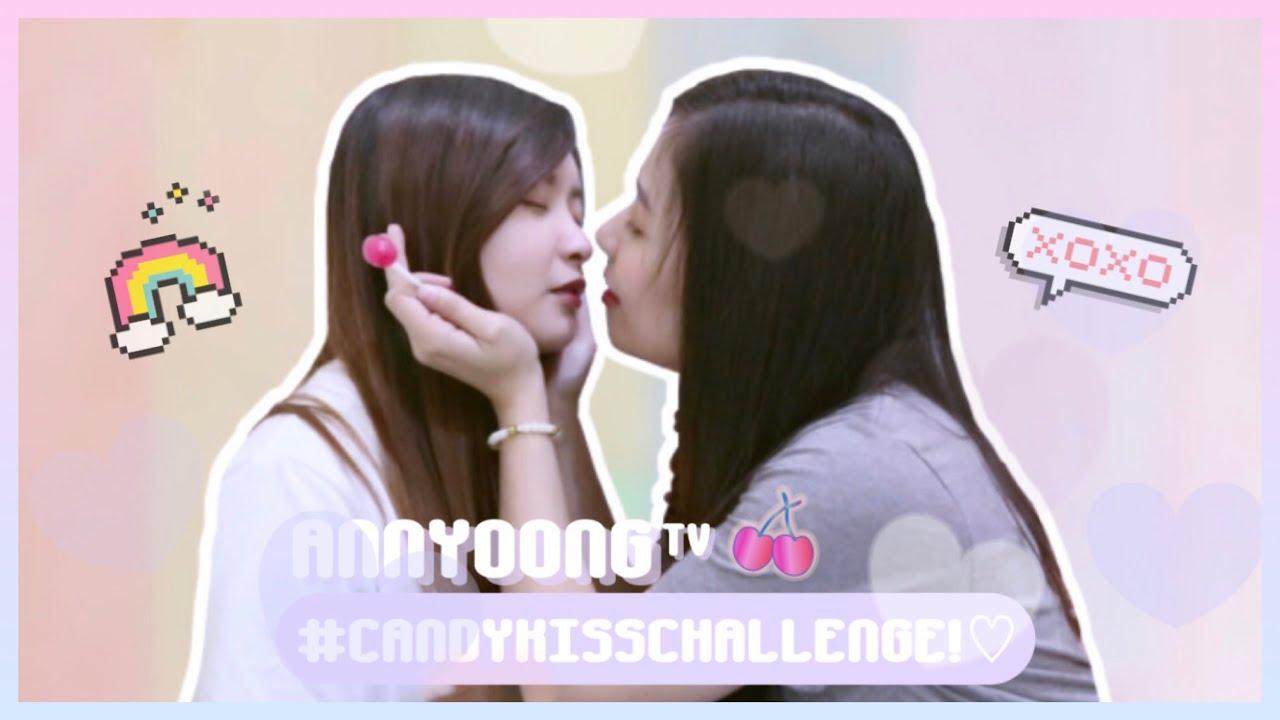 Download CANDY KISSING CHALLENGE! 💋 - AnnyoongxHaseyo ✨🌙   Couple Vlog ❣️